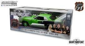 Plymouth  - Cuda 1971 green - 1:18 - Highway 61 - hwy18017 - hwy18017 | Toms Modelautos