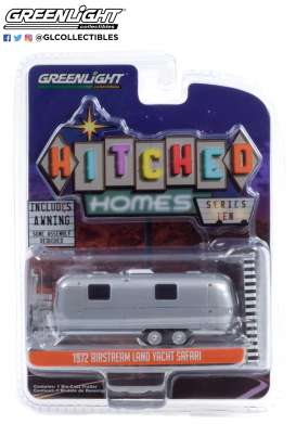 Airstream  - Double-Axle 1972 silver - 1:64 - GreenLight - 34100B - gl34100B | Toms Modelautos