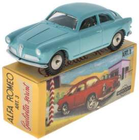 Alfa Romeo  - Giulietta Sprint light blue - 1:43 - Magazine Models - magMYsprint | Toms Modelautos