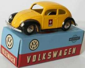 Volkswagen  - Beetle yellow/black - 1:43 - Magazine Models - magMYptt | Toms Modelautos