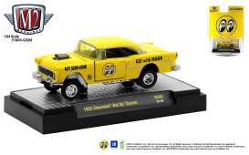 Chevrolet  - Bel Air 1955 yellow/black - 1:64 - M2 Machines - 31600GS08 - M2-31600GS08 | Toms Modelautos