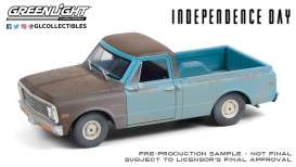 Chevrolet  - C-10 1971 blue - 1:24 - GreenLight - 84132 - gl84132 | Toms Modelautos