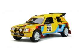 Peugeot  - 205 Grand Raid 1987 yellow/black/blue - 1:18 - OttOmobile Miniatures - OT354 - otto354 | Toms Modelautos