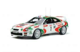 Toyota  - Celica 1995 white/red - 1:18 - OttOmobile Miniatures - ot302 - otto302 | Toms Modelautos