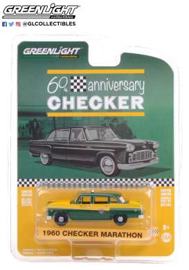 Checker  - Marathon 1960  - 1:64 - GreenLight - 28060C - gl28060C | Toms Modelautos