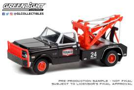 Chevrolet  - C-30 1970 black/red/white - 1:64 - GreenLight - 46070B - gl46070B | Toms Modelautos