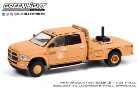 Ram  - 3500 Dually 2018 orange - 1:64 - GreenLight - 30271 - gl30271 | Toms Modelautos