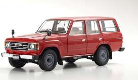 Toyota  - Land Cruiser  red - 1:18 - Kyosho - 08956R - kyo8956R | Toms Modelautos