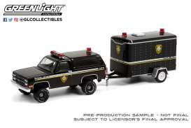 Chevrolet  - K5 Blazer 1990 black - 1:64 - GreenLight - 32220D - gl32220D | Toms Modelautos