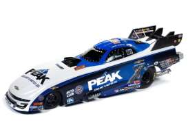 Dragster  - 2019 white/blue - 1:24 - Auto World - CP7570 - AWCP7570 | Toms Modelautos