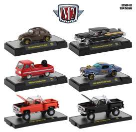 Assortment/ Mix  - various - 1:64 - M2 Machines - 32500-62 - M2-32500-62 | Toms Modelautos