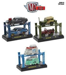 Assortment/ Mix  - various - 1:64 - M2 Machines - 33000-19 - m2-33000-19 | Toms Modelautos