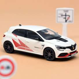 Renault  - Megane RS 2019 white - 1:43 - Norev - 517738 - nor517738 | Toms Modelautos