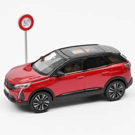 Peugeot  - 3008 GT 2020 red - 1:43 - Norev - 473922 - nor473922 | Toms Modelautos