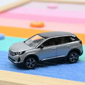 Peugeot  - 3008 2020 grey - 1:64 - Norev - 310916 - nor310916 | Toms Modelautos