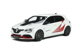 Renault  - Megane R Pack Carbon 2003 white/red - 1:18 - OttOmobile Miniatures - 877 - otto877 | Toms Modelautos