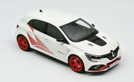 Renault  - Megane RS 2019 white/red - 1:18 - Norev - 185239 - nor185239 | Toms Modelautos