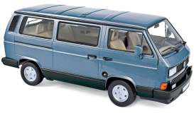 Volkswagen  - Multivan 1990 light blue - 1:18 - Norev - nor188544 - nor188544 | Toms Modelautos