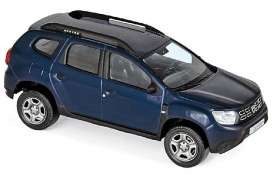 Dacia  - Duster 2018 navy blue - 1:43 - Norev - 509007 - nor509007 | Toms Modelautos