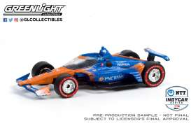 Honda  - 2020 blue/orange - 1:64 - GreenLight - 10889 - gl10889 | Toms Modelautos