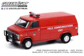 GMC  - Vandura 1989  - 1:64 - GreenLight - 30277 - gl30277 | Toms Modelautos