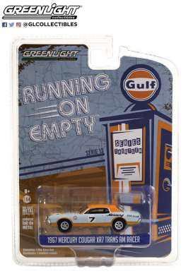 Mercury  - Cougar 1967 blue/orange - 1:64 - GreenLight - 41130B - gl41130B | Toms Modelautos