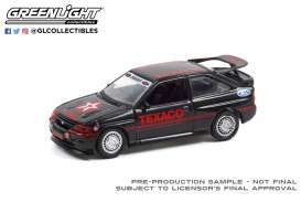 Ford  - Escort RS 1995 black - 1:64 - GreenLight - 41130D - gl41130D | Toms Modelautos
