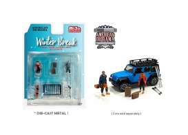 Figures  - Winter Break  - 1:64 - American Diorama - 76462 - AD76462 | Toms Modelautos