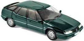Citroen  - XM 1995 green - 1:43 - Norev - 159127 - nor159127 | Toms Modelautos