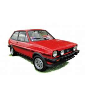 Ford  - Fiesta XR2 1981 red - 1:18 - Norev - 182741 - nor182741 | Toms Modelautos