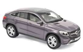 Mercedes Benz  - GLE Coupe 2015 grey - 1:18 - Norev - 183790 - nor183790 | Tom's Modelauto's