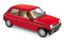 Renault  - 1982 red - 1:18 - Norev - 185243 - nor185243 | Toms Modelautos