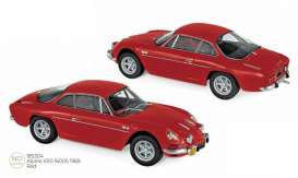 Alpine Renault - A110 1969 red - 1:18 - Norev - 185304 - nor185304 | Toms Modelautos