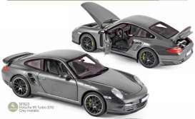 Porsche  - 911 2010 grey - 1:18 - Norev - 187623 - nor187623 | Toms Modelautos