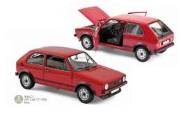 Volkswagen  - Golf GTI 1976 red - 1:18 - Norev - 188472 - nor188472 | Toms Modelautos