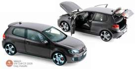Volkswagen  - Golf GTI 2009 grey - 1:18 - Norev - 188503 - nor188503 | Toms Modelautos