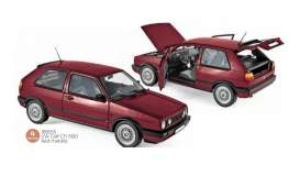 Volkswagen  - Multivan 1990 red - 1:18 - Norev - nor188555 - nor188555 | Toms Modelautos