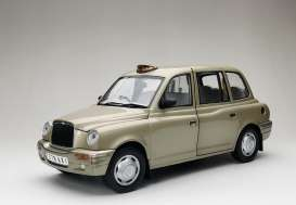 London TX Taxi Cab  - 1998 silver-gold - 1:18 - SunStar - 1128 - sun1128 | Toms Modelautos