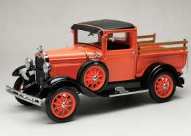 Ford  - Model A pick-up 1931 orange-red - 1:18 - SunStar - 6116 - sun6116 | Toms Modelautos