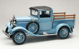 Ford  - Model A pick-up 1931 hessian blue - 1:18 - SunStar - 6117 - sun6117 | Toms Modelautos