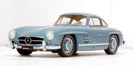 Mercedes Benz  - 300SL 1954 light blue - 1:12 - GT Spirit - GT308 - GT308 | Toms Modelautos