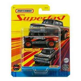 Dodge  - D200 1968 black/orange - 1:64 - Matchbox - GNY11 - MBGNY11 | Toms Modelautos