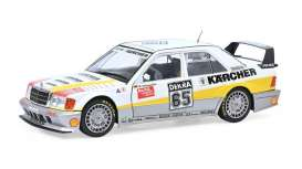 Mercedes Benz  - 190E white/yellow - 1:18 - Solido - 1801008 - soli1801008 | Toms Modelautos