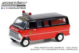 Ford  - Club Wagon 1969  - 1:64 - GreenLight - 30242 - gl30242 | Toms Modelautos