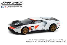 Ford  - GT 2021 white/black - 1:64 - GreenLight - 30244 - gl30244 | Toms Modelautos