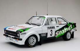 Ford  - Escort RS1800 #3 2008 white/green/blue - 1:18 - SunStar - 4852 - sun4852 | Toms Modelautos