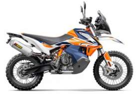 KTM  - 790 orange/blue - 1:18 - Bburago - 51084 - bura51084 | Toms Modelautos