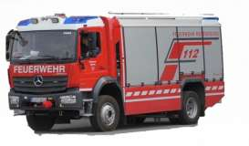 Mercedes Benz  - Atego red/grey - 1:50 - Bburago - 32019 - bura32019 | Toms Modelautos