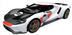 Ford  - GT white/red/black - 1:32 - Bburago - 41165 - bura41165 | Toms Modelautos