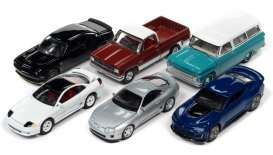 Assortment/ Mix  - various - 1:64 - Auto World - 64302A~6 - AW64302A | Toms Modelautos